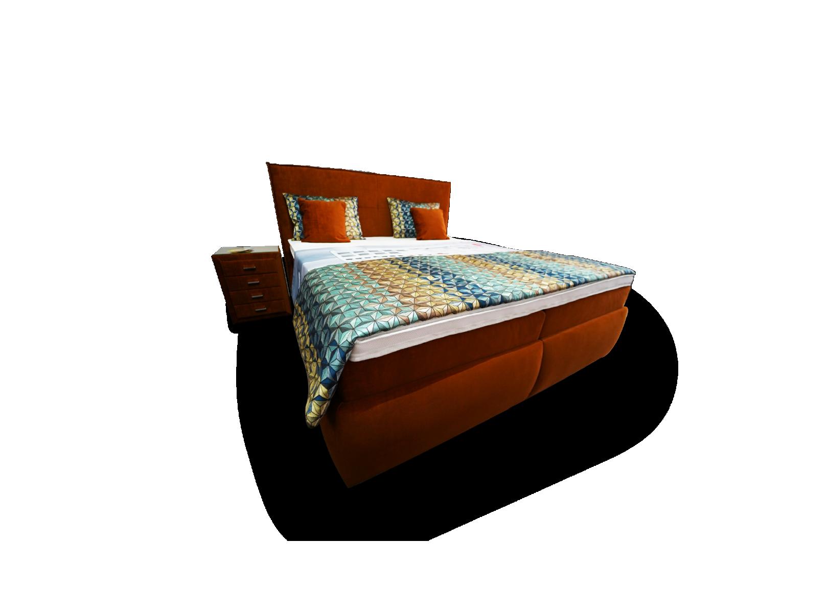 Bett mit Doppel Bettkasten