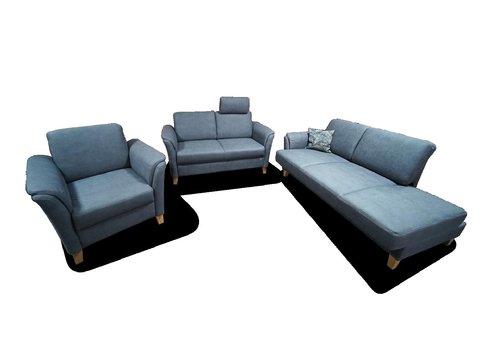 3 Sitzer und 2 Sitzer mit Sessel